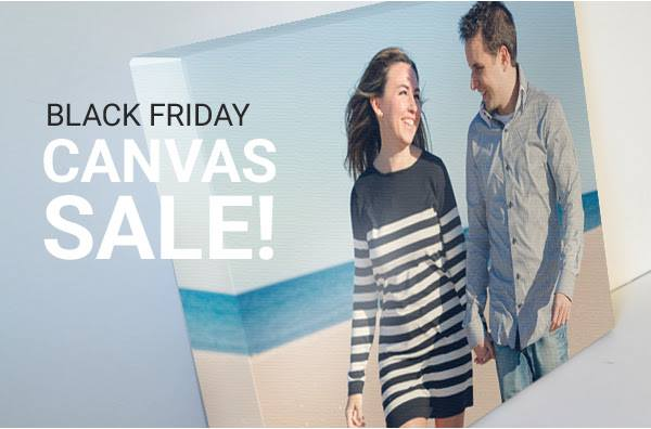 Black Friday – Canvas Wrap for $35!